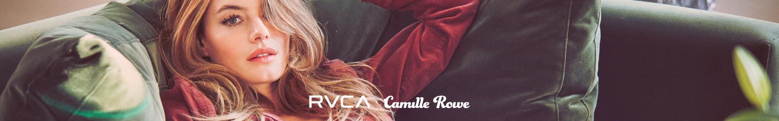 RVCA x Camille Rowe