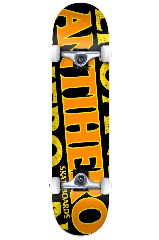 "Street Skate Anti-Hero 8"" BLACKHERO LG Black"