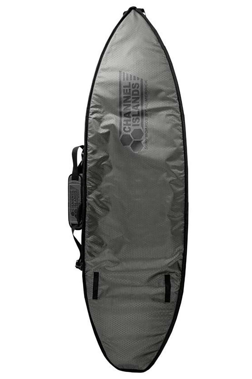 Al Merrick Boardbag 6'6 CX2 DOUBLE Charcoal