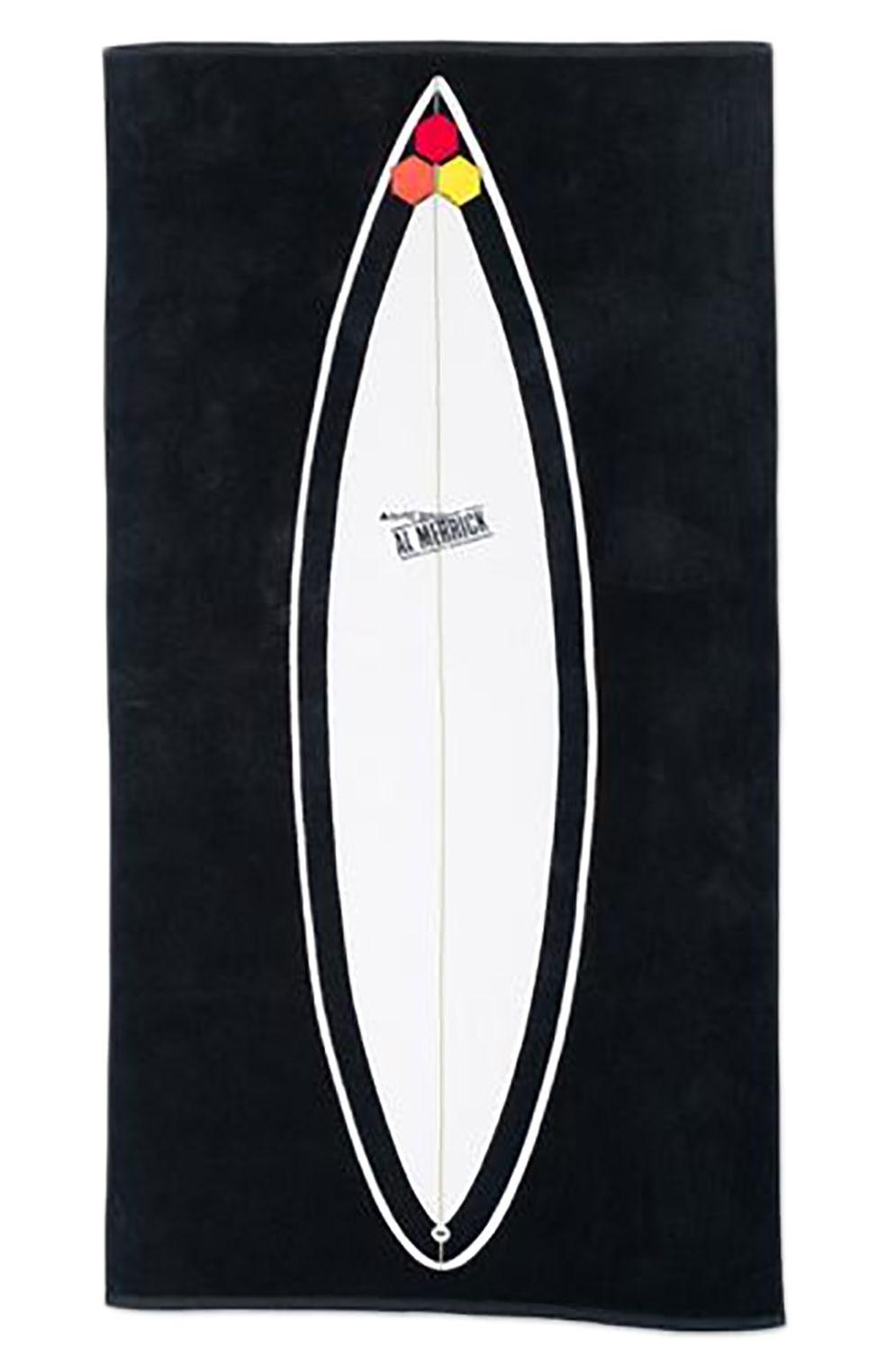 Al Merrick Beach Towel BLACK BEAUTY Black