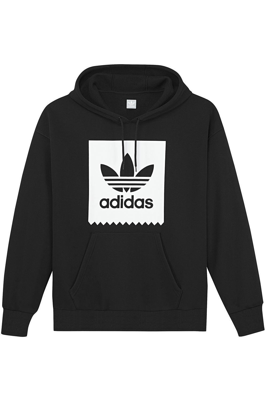 Adidas Sweat Hood SOLID BB Black/White