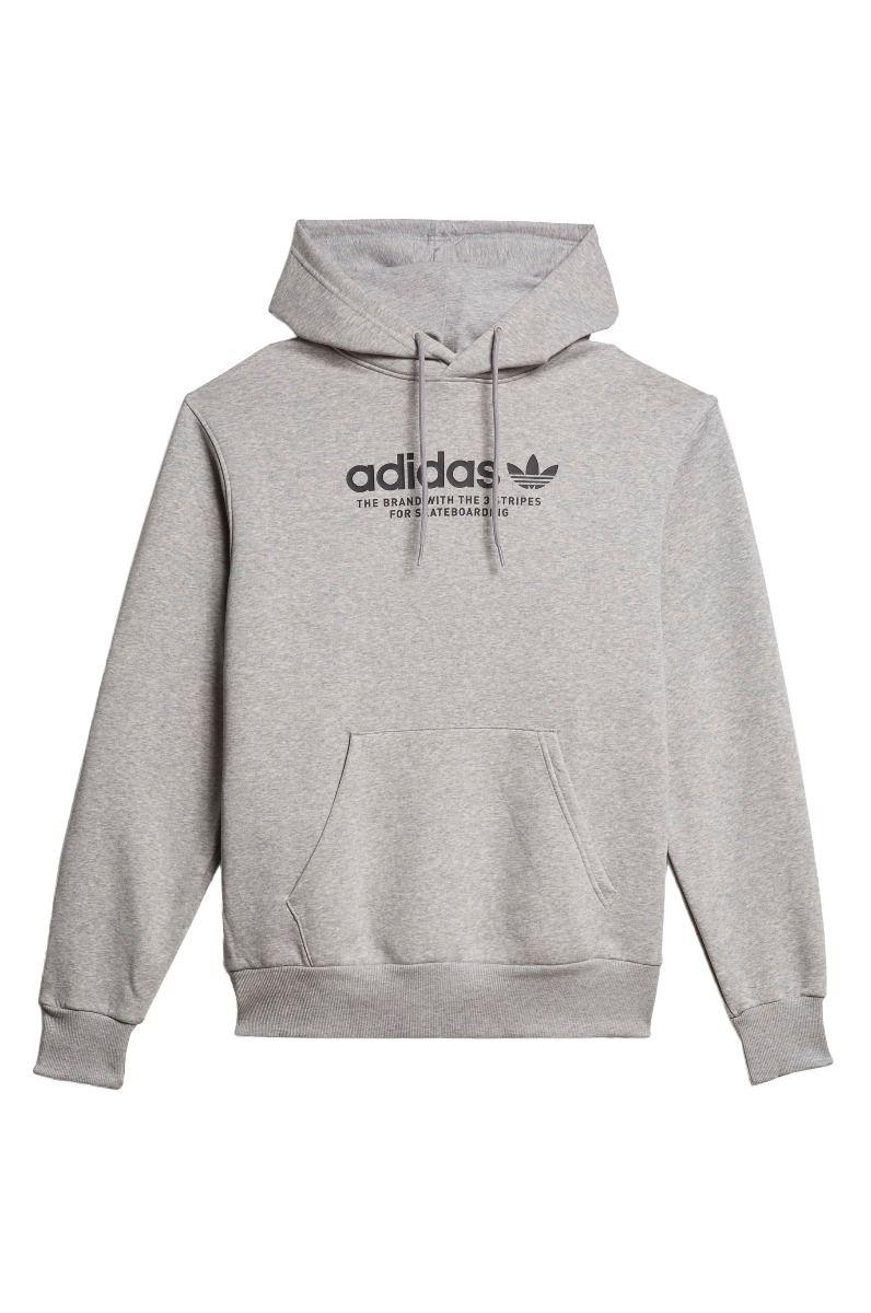 Adidas Sweat Hood 4.0 LOGO Medium Grey Heather