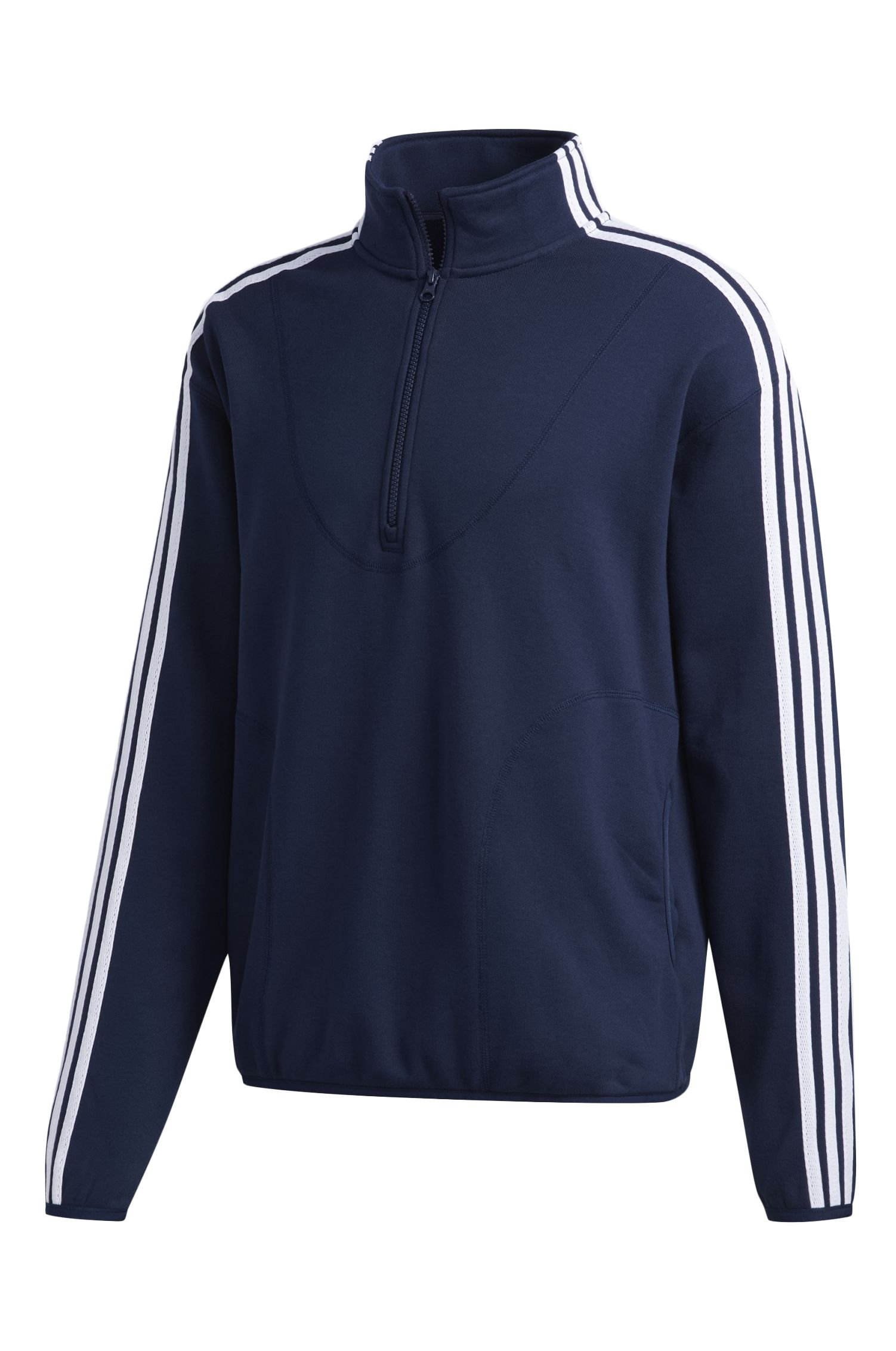 Casaco Adidas TERRY TT Collegiate Navy/White