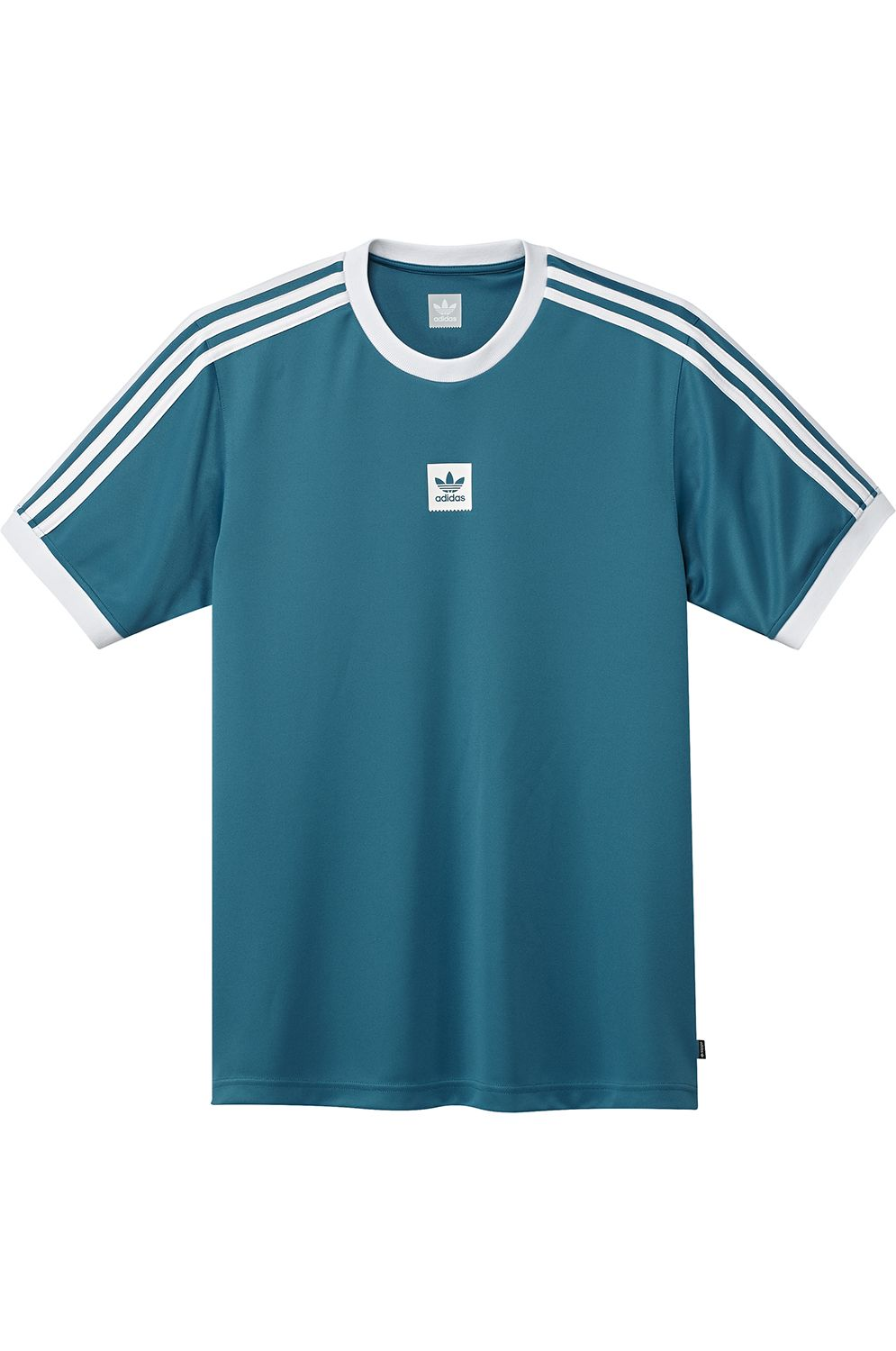 Adidas T-Shirt CLUB JERSEY Active Teal/White