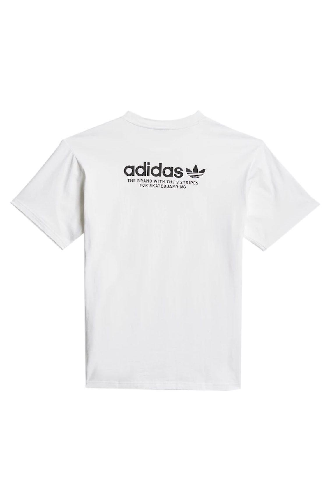 T-Shirt Adidas 4.0 LOGO SS TEE White/Black