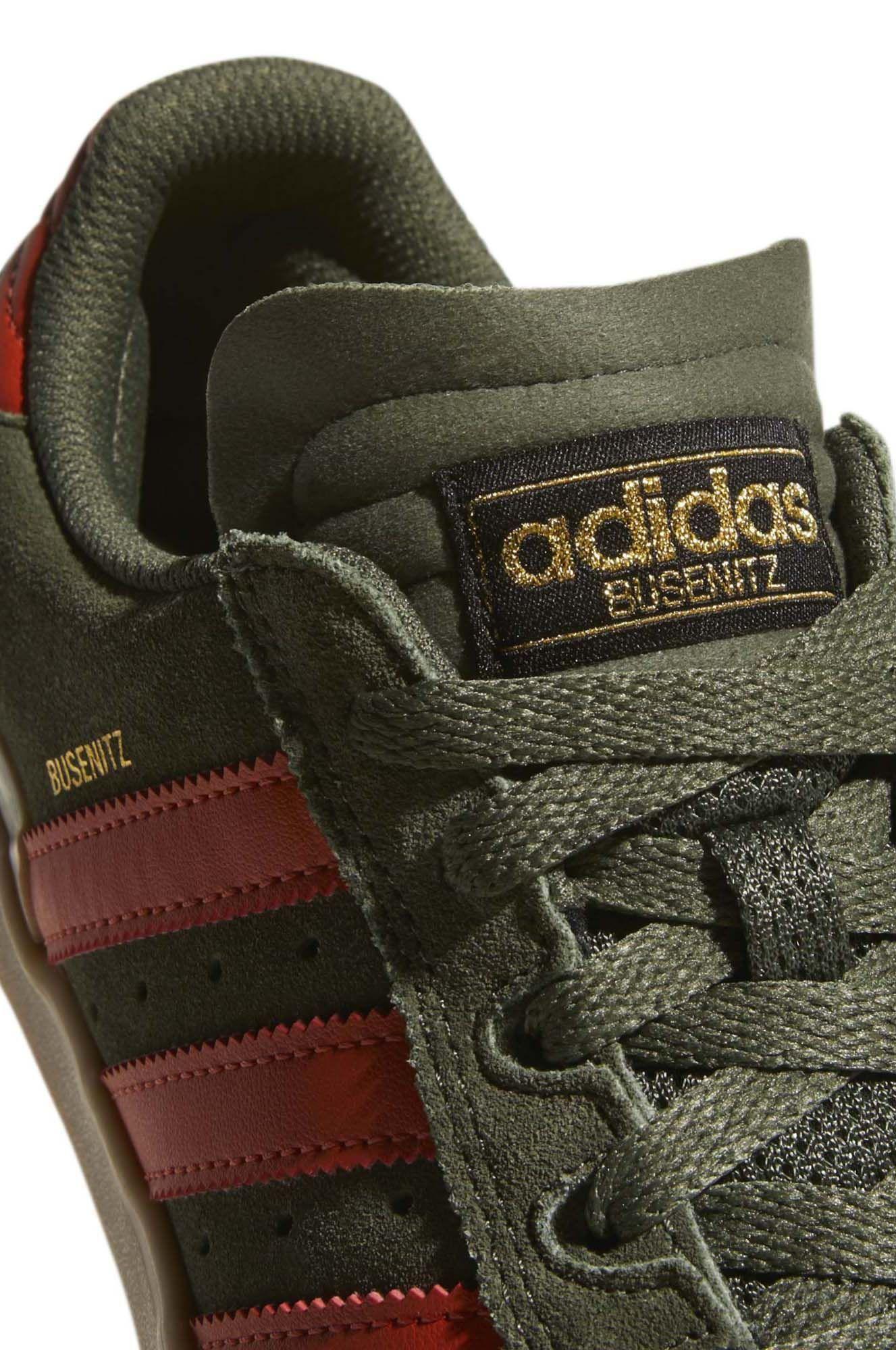 13b942493cba ... Adidas Shoes BUSENITZ VULC Base Green Raw Amber Gum4