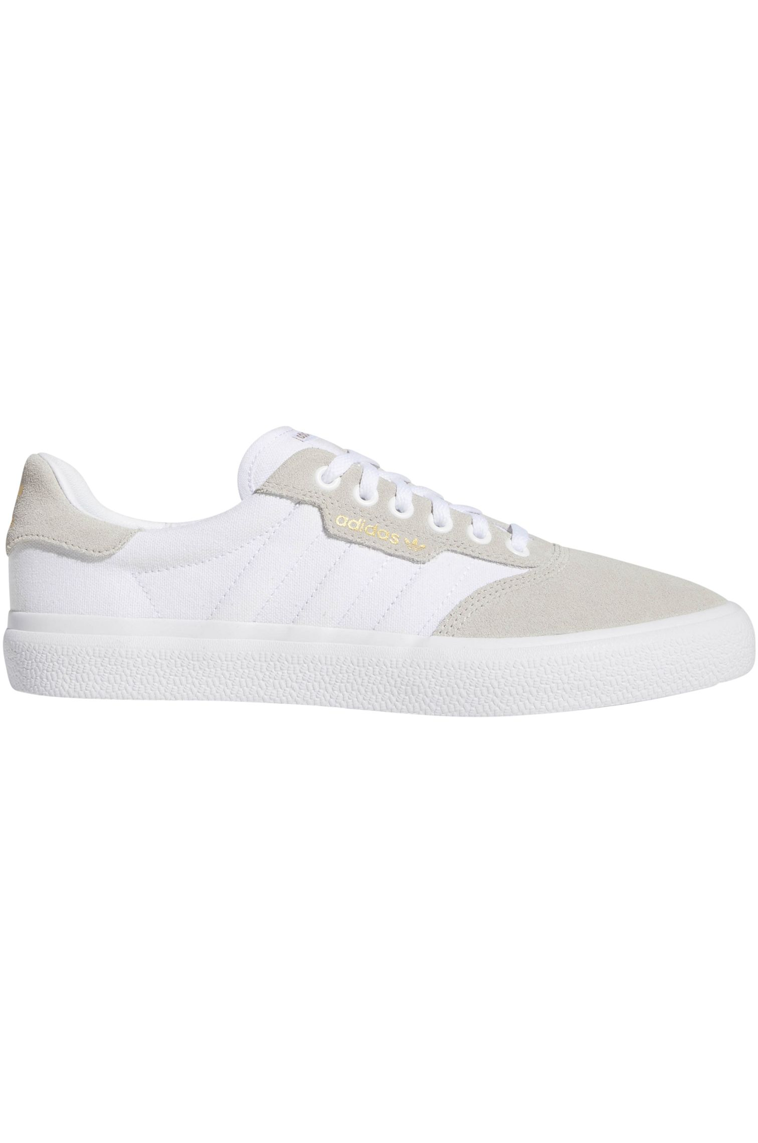 aa67de9e2f7 Tenis Adidas 3MC Ftwr White Clear Brown Gold Met.