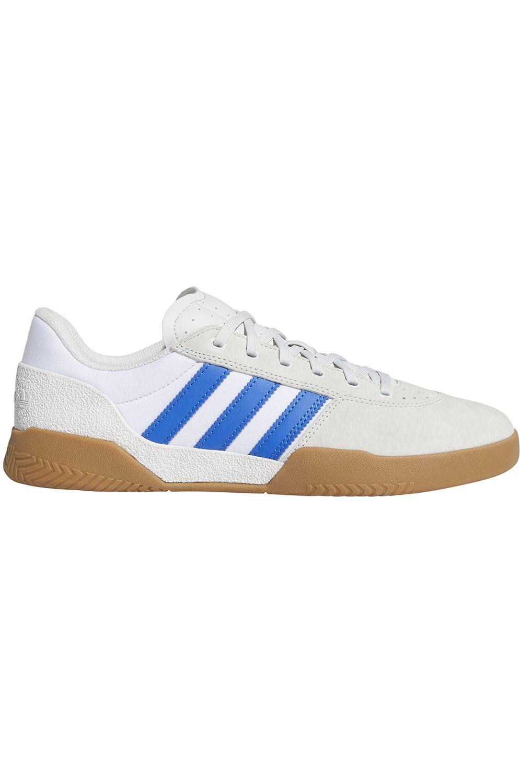 94a54c4fb273e Tenis Adidas CITY CUP Crystal White/Blue/Gum4