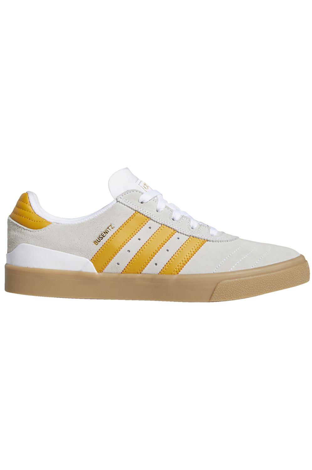Tenis Adidas BUSENITZ VULC Ftwr White/Tactile Yellow F17/Gum4