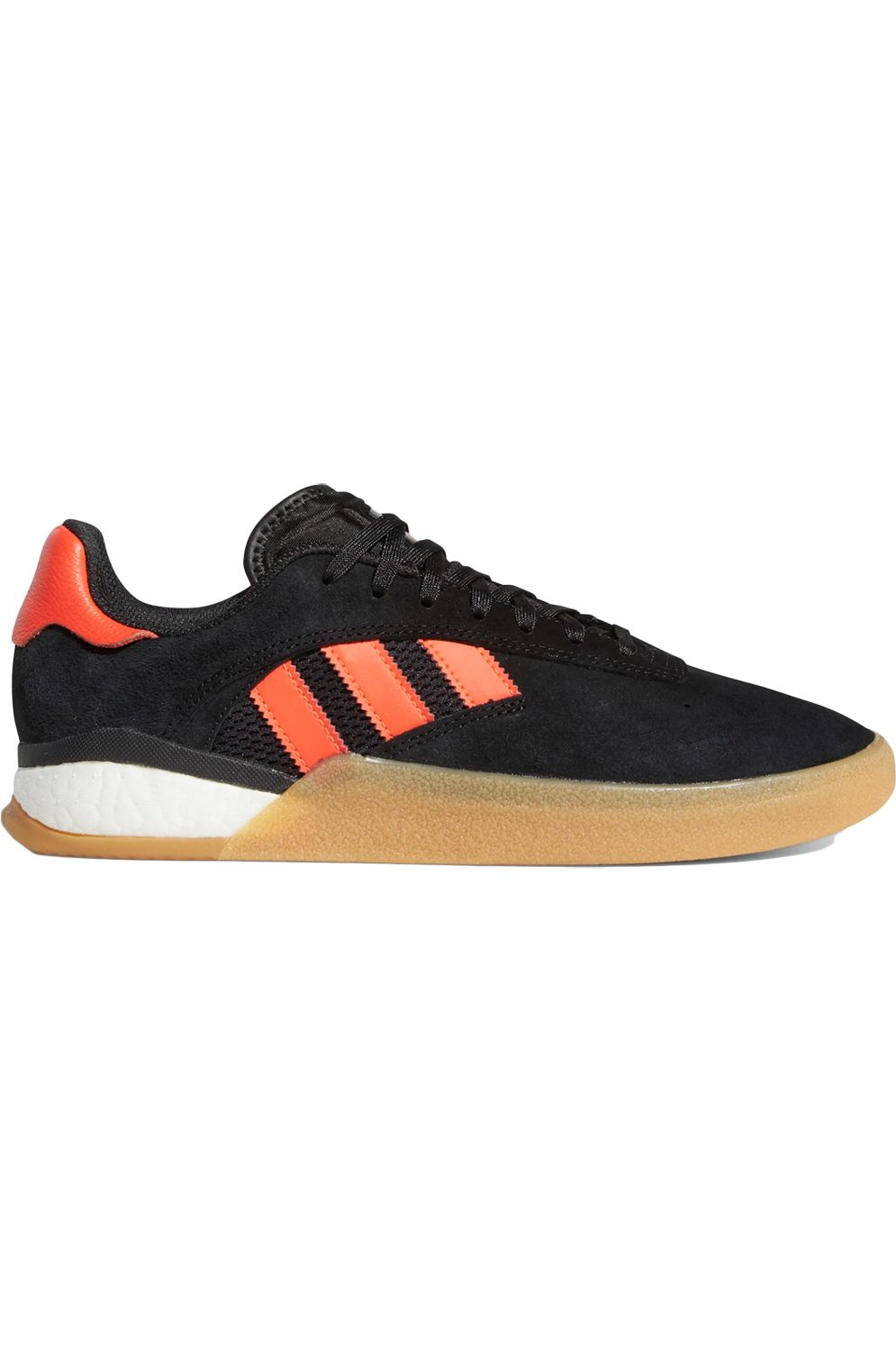 Adidas Shoes 3ST.004 Core Black/Solar Red/Ftwr White