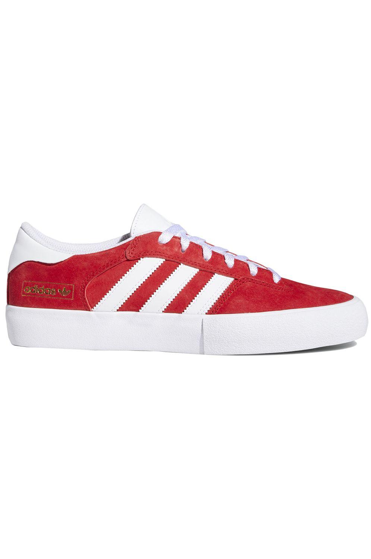 Adidas Shoes MATCHBREAK SUPER Scarlet/Ftwr White/Gold Met.