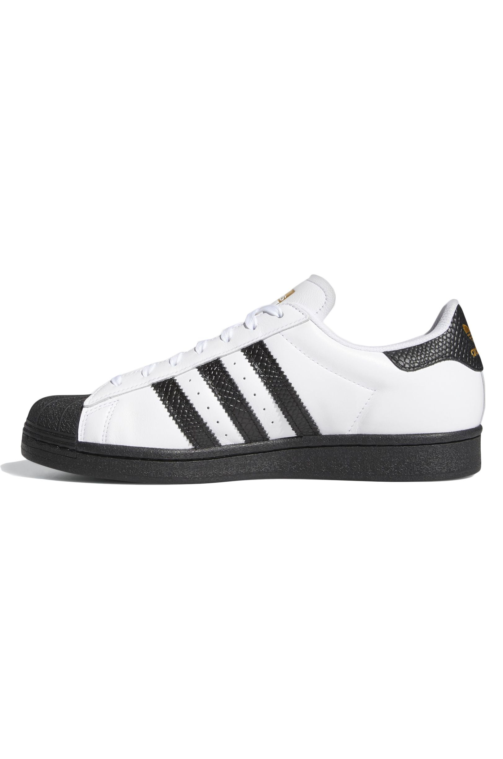 Tenis Adidas SUPERSTAR ADV Ftwr White/Core Black/Gold Met.