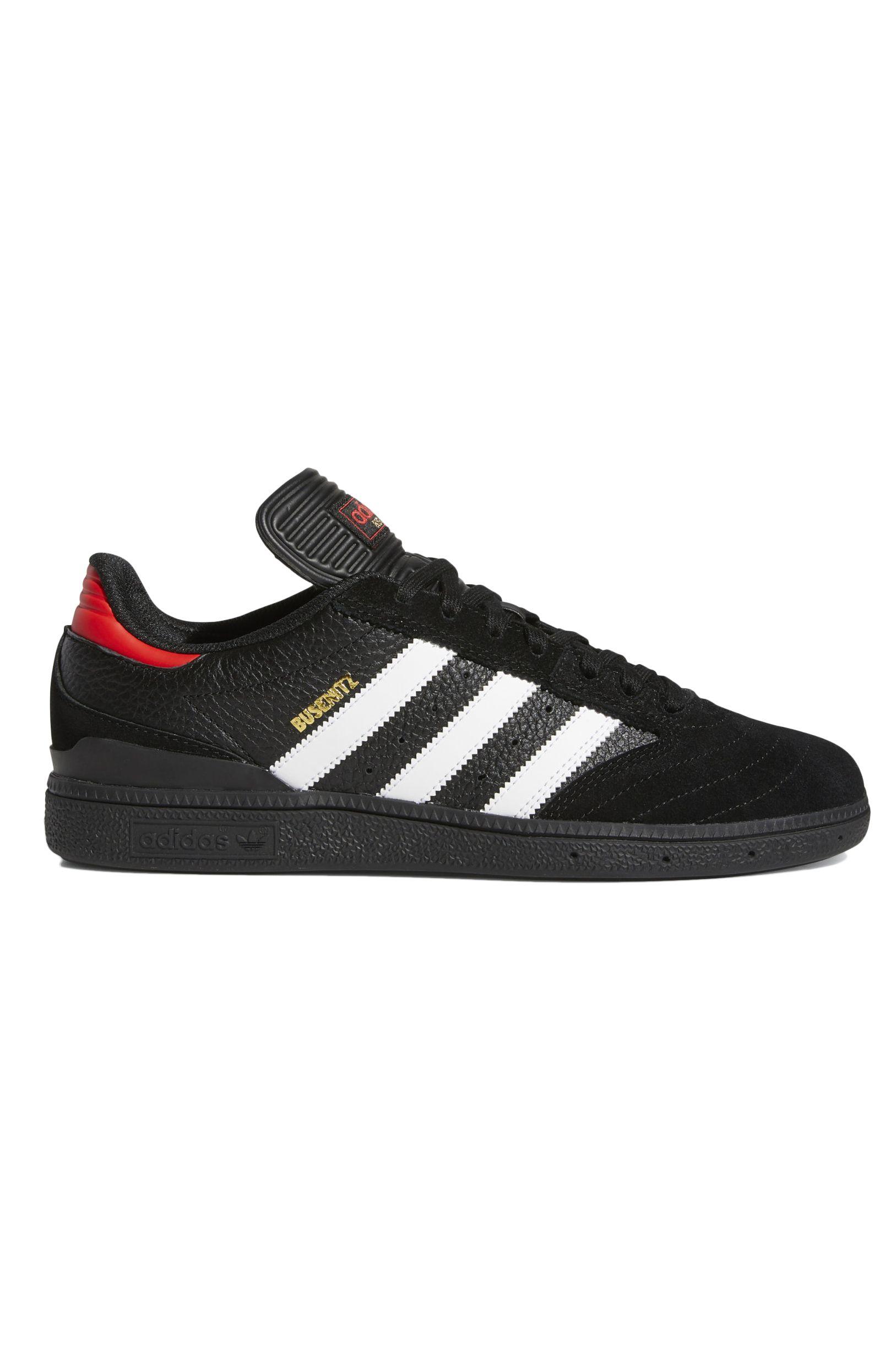 Tenis Adidas BUSENITZ Core Black/Ftwr White/Vivid Red