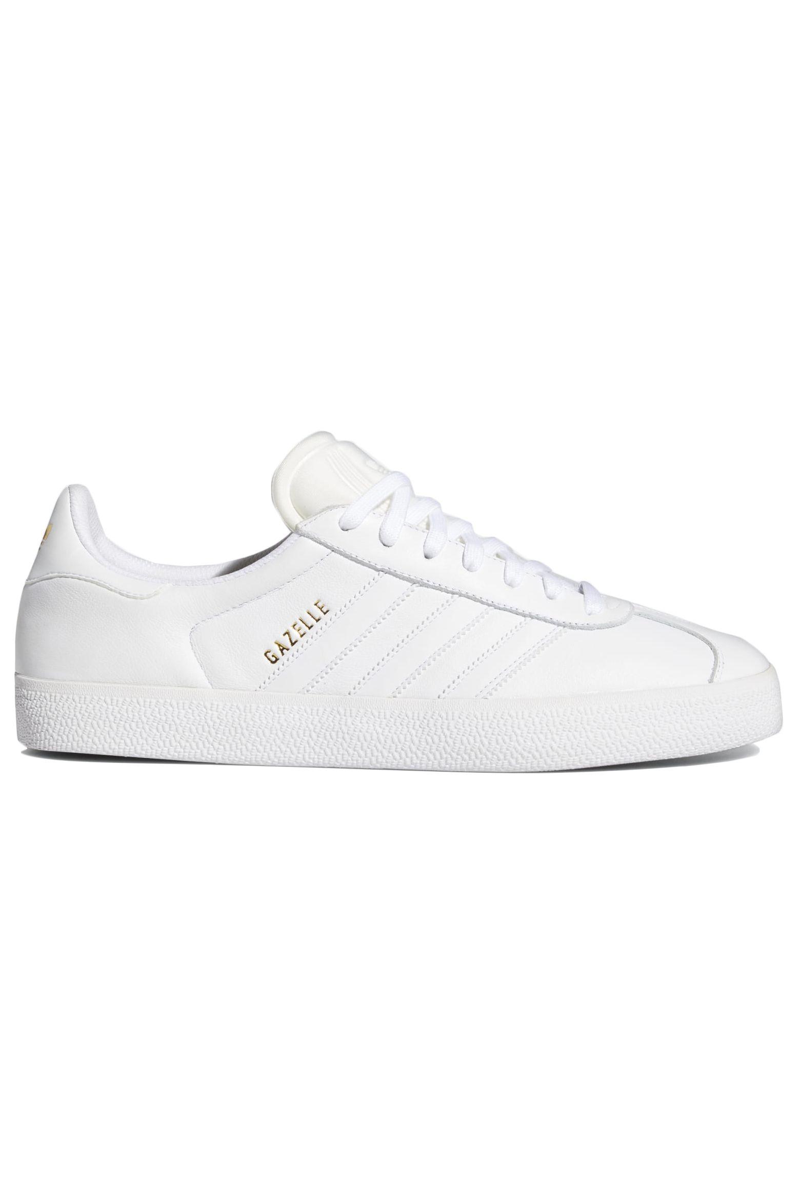 Tenis Adidas GAZELLE ADV Ftwr White/Ftwr White/Gold Met.