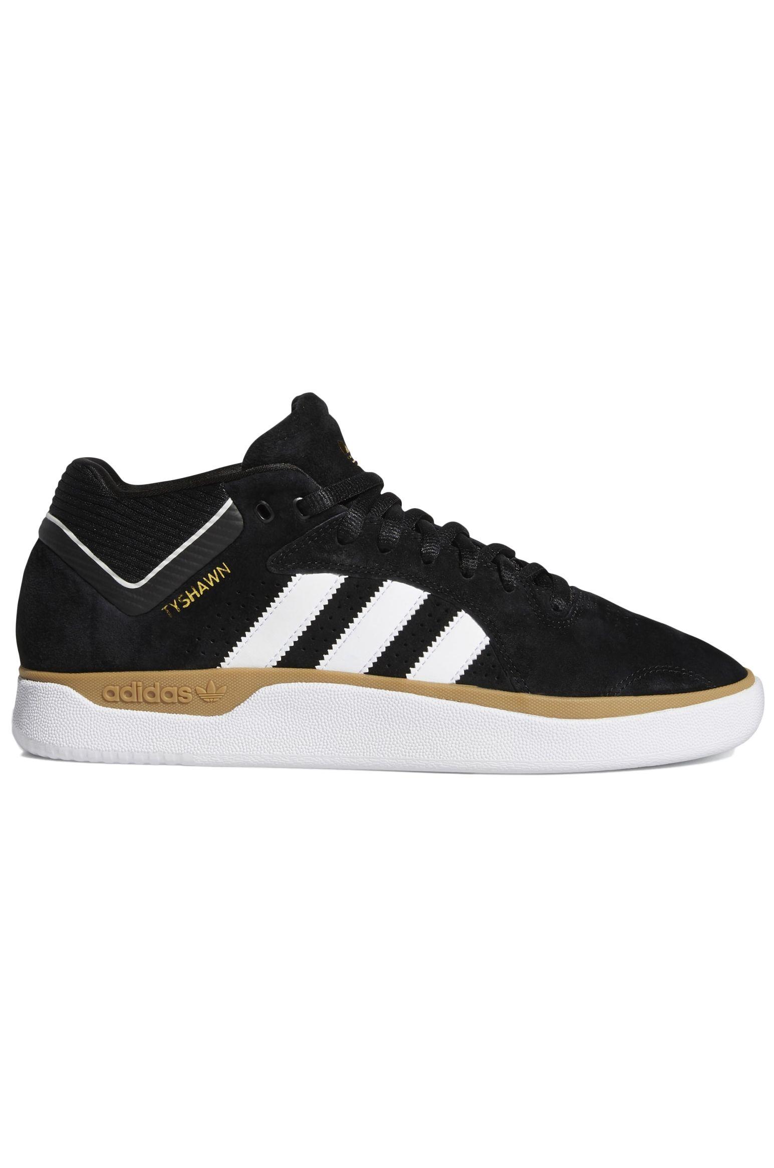 Adidas Shoes TYSHAWN Cblack/Ftwwht/Gum4