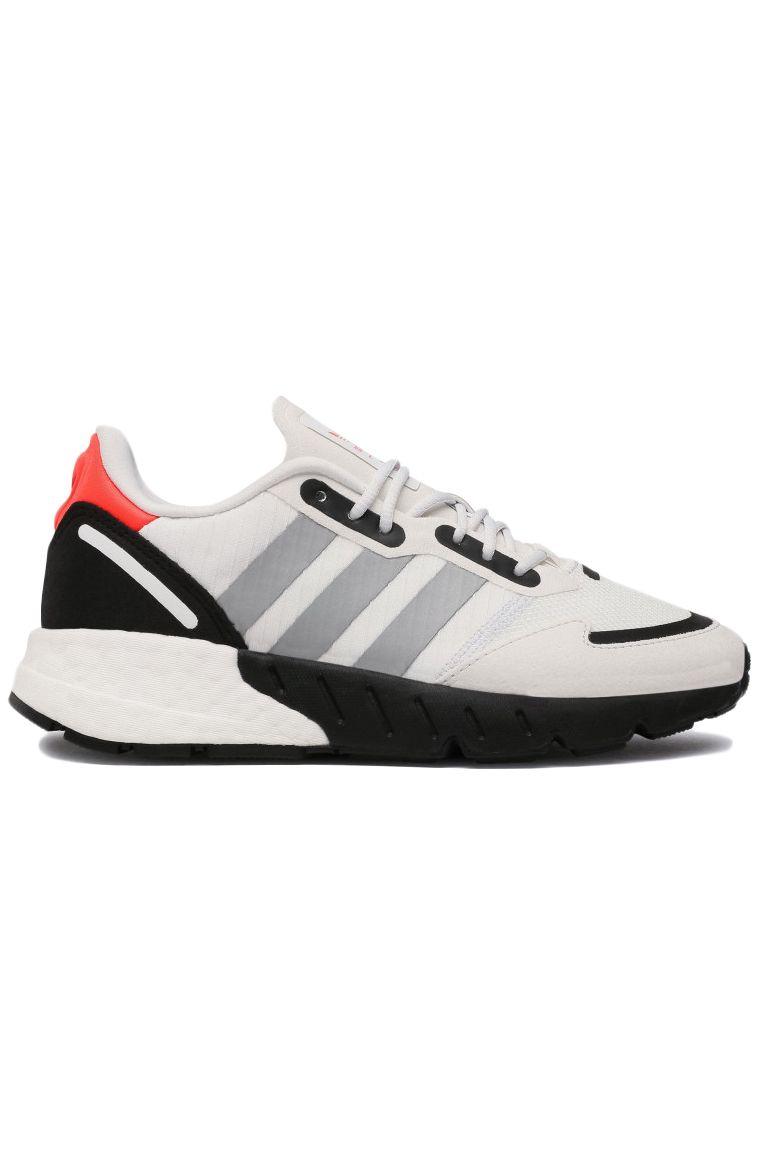 Tenis Adidas ZX 1K BOOST J Crystal White/Silver Met./Core Black