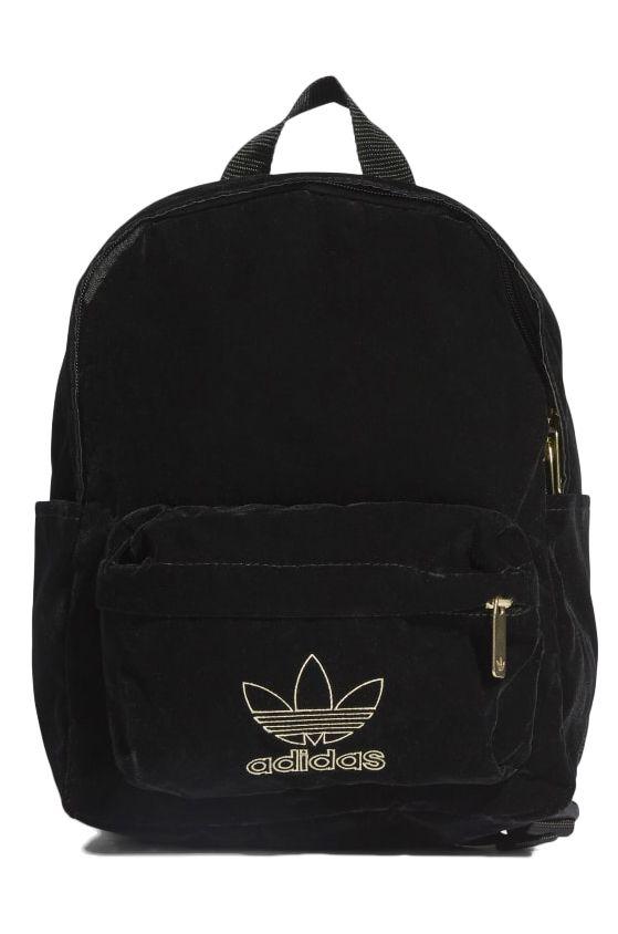 Adidas Backpack SMALL BP VELVET Black