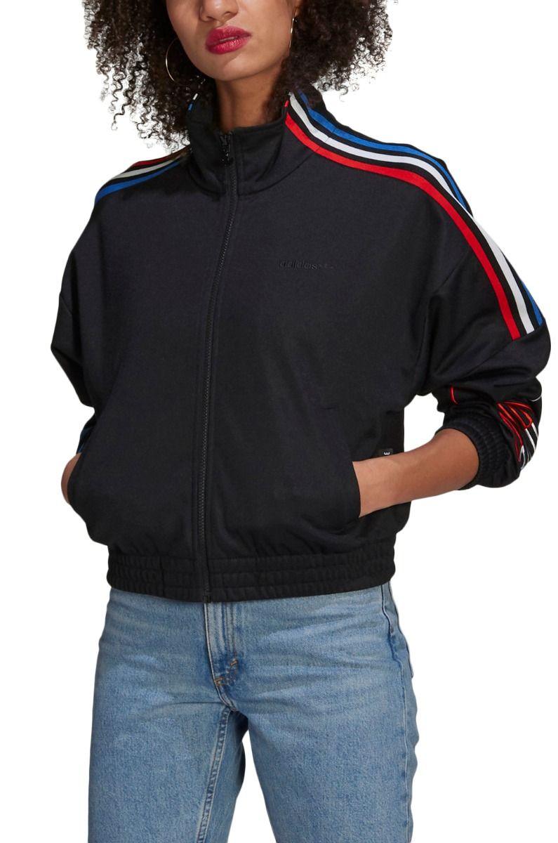 Adidas Crew Sweat TRACKTOP PB Black