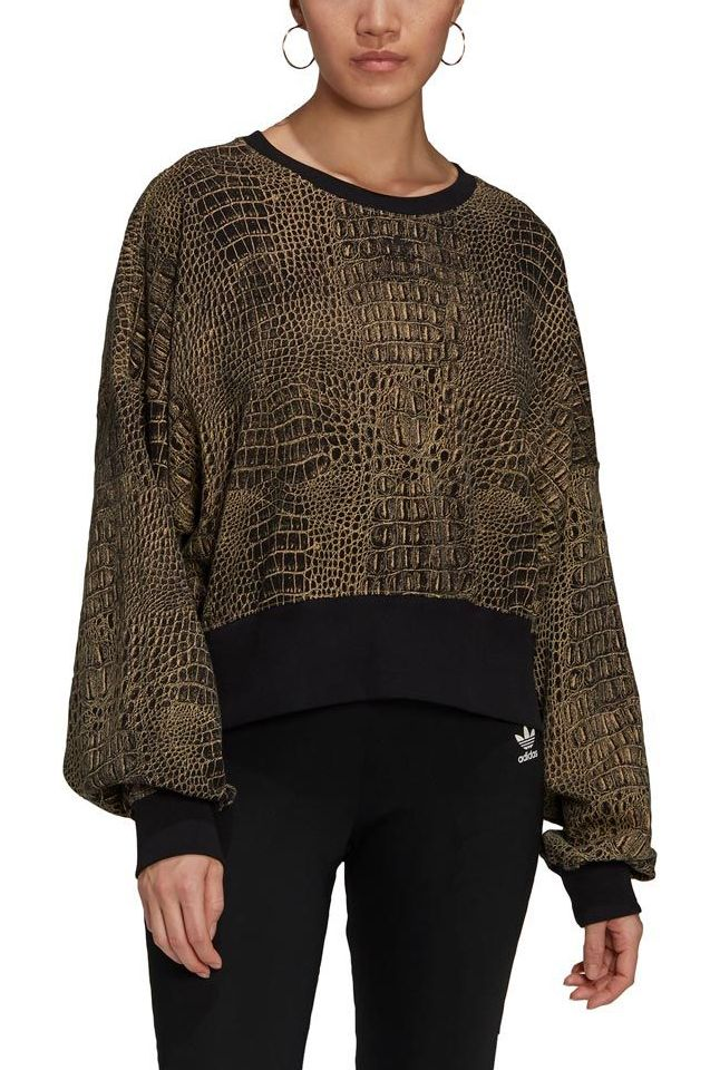 Sweat Basica Adidas SWEATER Black