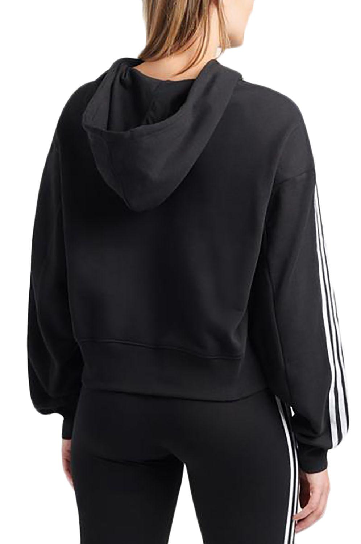 Sweat Capuz Adidas SHORT HOODIE Black