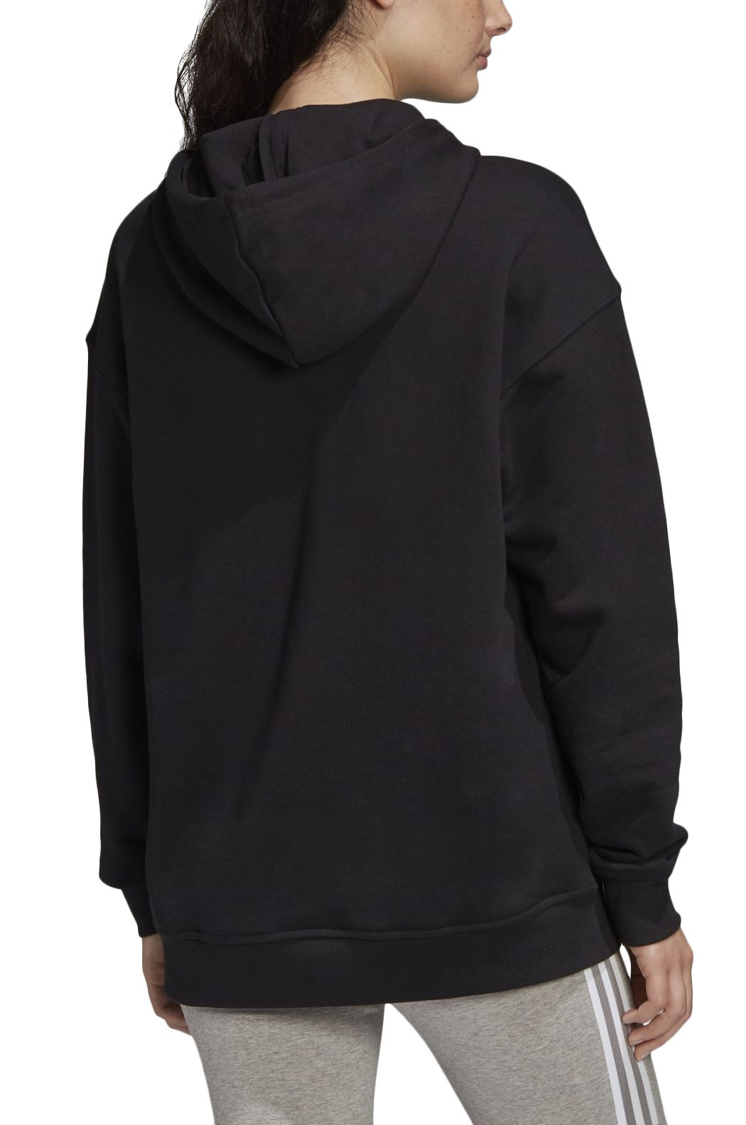 Sweat Capuz Adidas TRF HOODIE Black/White
