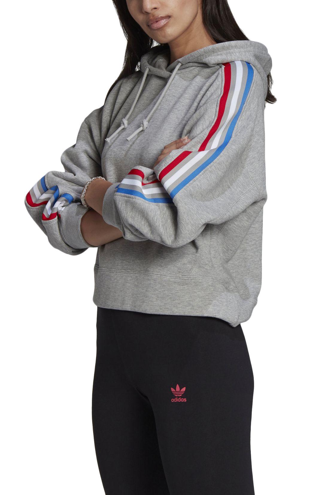 Sweat Capuz Adidas HOODIE Medium Grey Heather