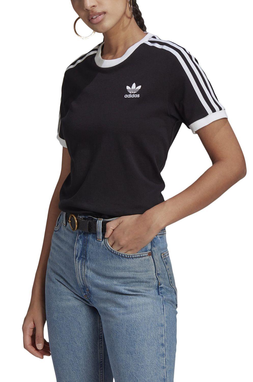 T-Shirt Adidas 3 STRIPES TEE Black