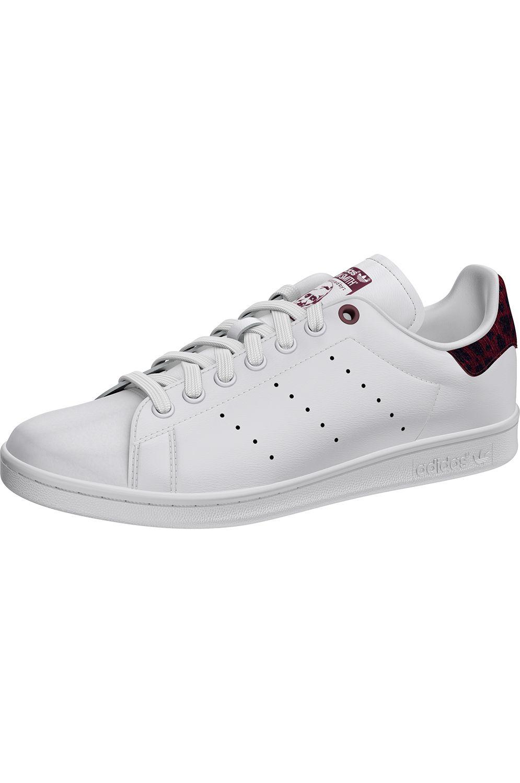 Tenis Adidas STAN SMITH Ftwr White/Collegiate Burgundy/Ftwr White