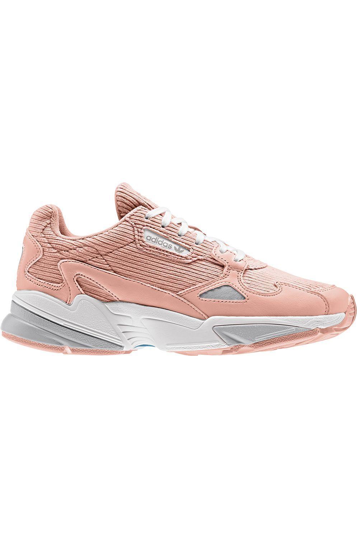 Tenis Adidas FALCON Glow Pink/Grey Two F17/Ftwr White