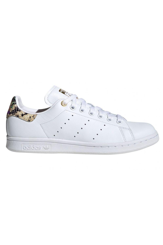 Tenis Adidas STAN SMITH W Ftwr White/Scarlet/Gold Met.