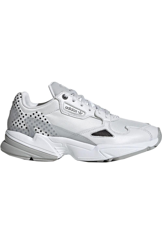 Tênis Adidas Falcon Masculino Preto e Branco | Tenis