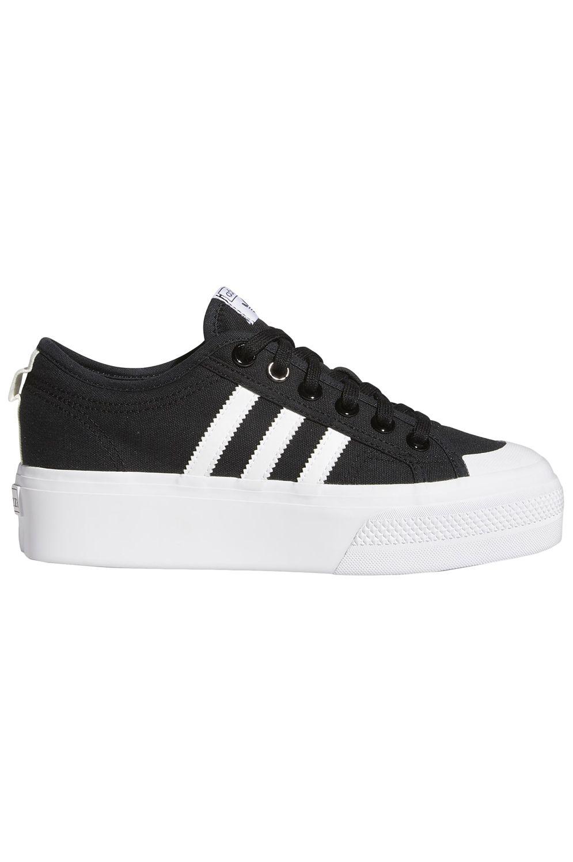 Adidas Shoes NIZZA PLATFORM W Core Black/Ftwr White/Ftwr White