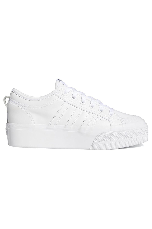 Tenis Adidas NIZZA PLATFORM W Ftwr White/Ftwr White/Core Black