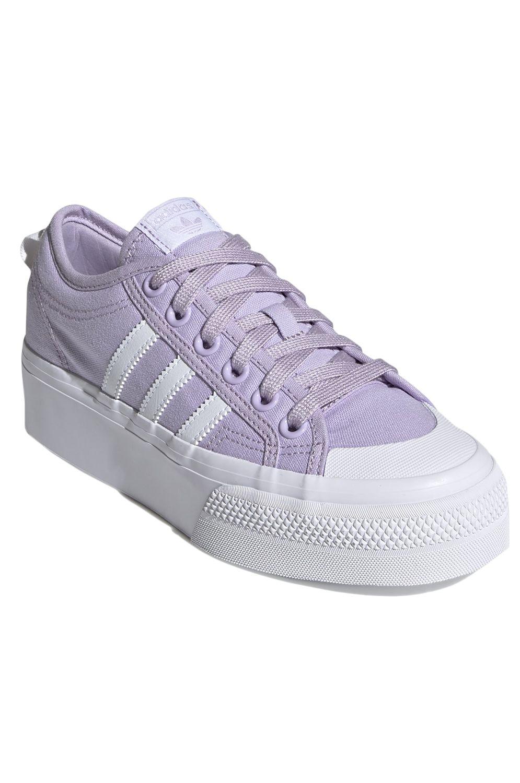 Tenis Adidas NIZZA PLATFORM W Ftwr White/Ftwr White
