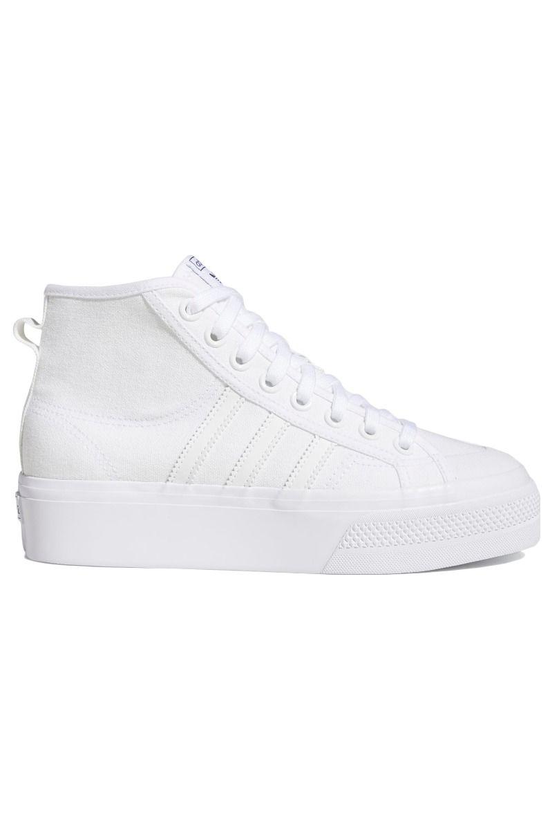 Tenis Adidas NIZZA PLATFORM MID W Ftwr White/Ftwr White/Ftwr White