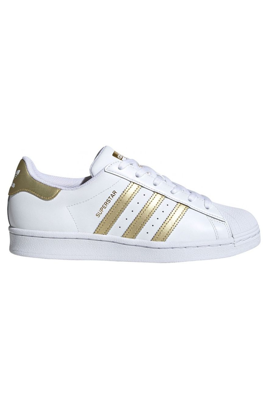 Tenis Adidas SUPERSTAR W Ftwr White/Gold Met./Ftwr White