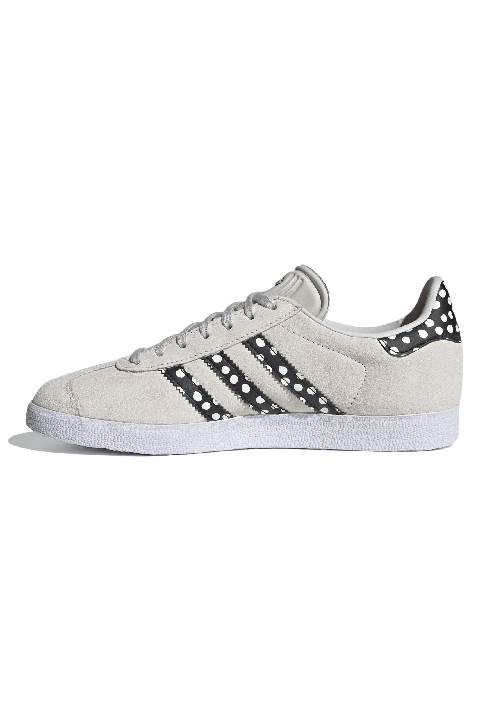 Tenis Adidas GAZELLE W Grey One/Core Black/Gold Met.