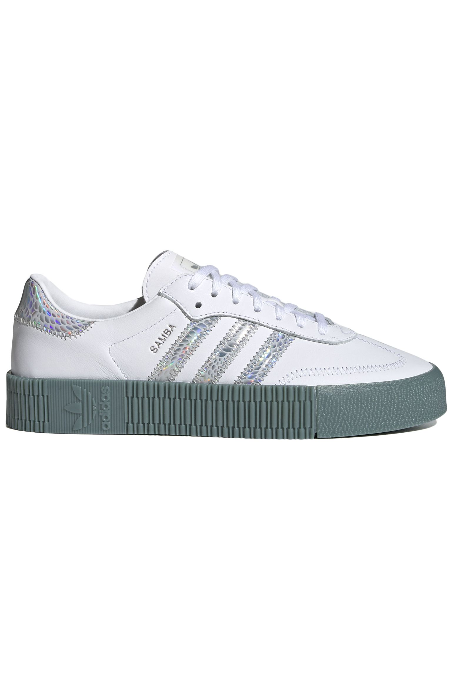 Tenis Adidas SAMBAROSE W Ftwr White/Supplier Colour/Hazy Emerald