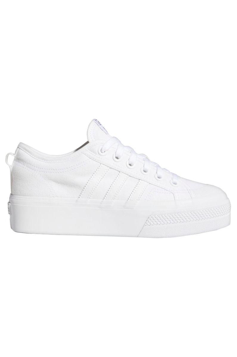Tenis Adidas NIZZA PLATFORM W Ftwr White/Ftwr White/Ftwr White