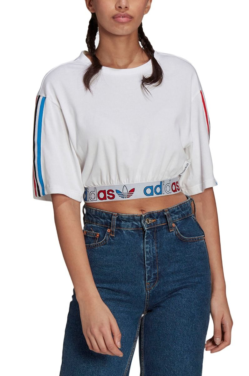 Adidas Top TEE PRIMEBLUE White