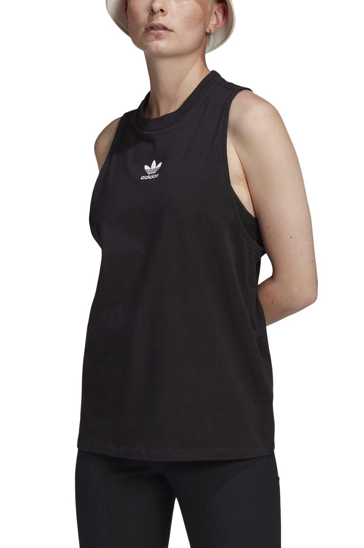 TShirt Alças Adidas TANK Black