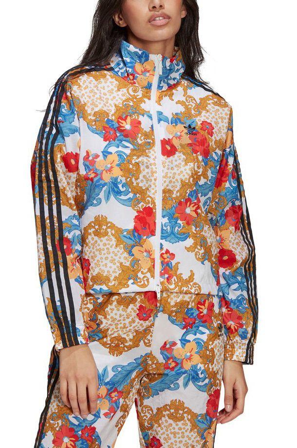 Sweat Fecho Adidas TRACK TOP Multicolor