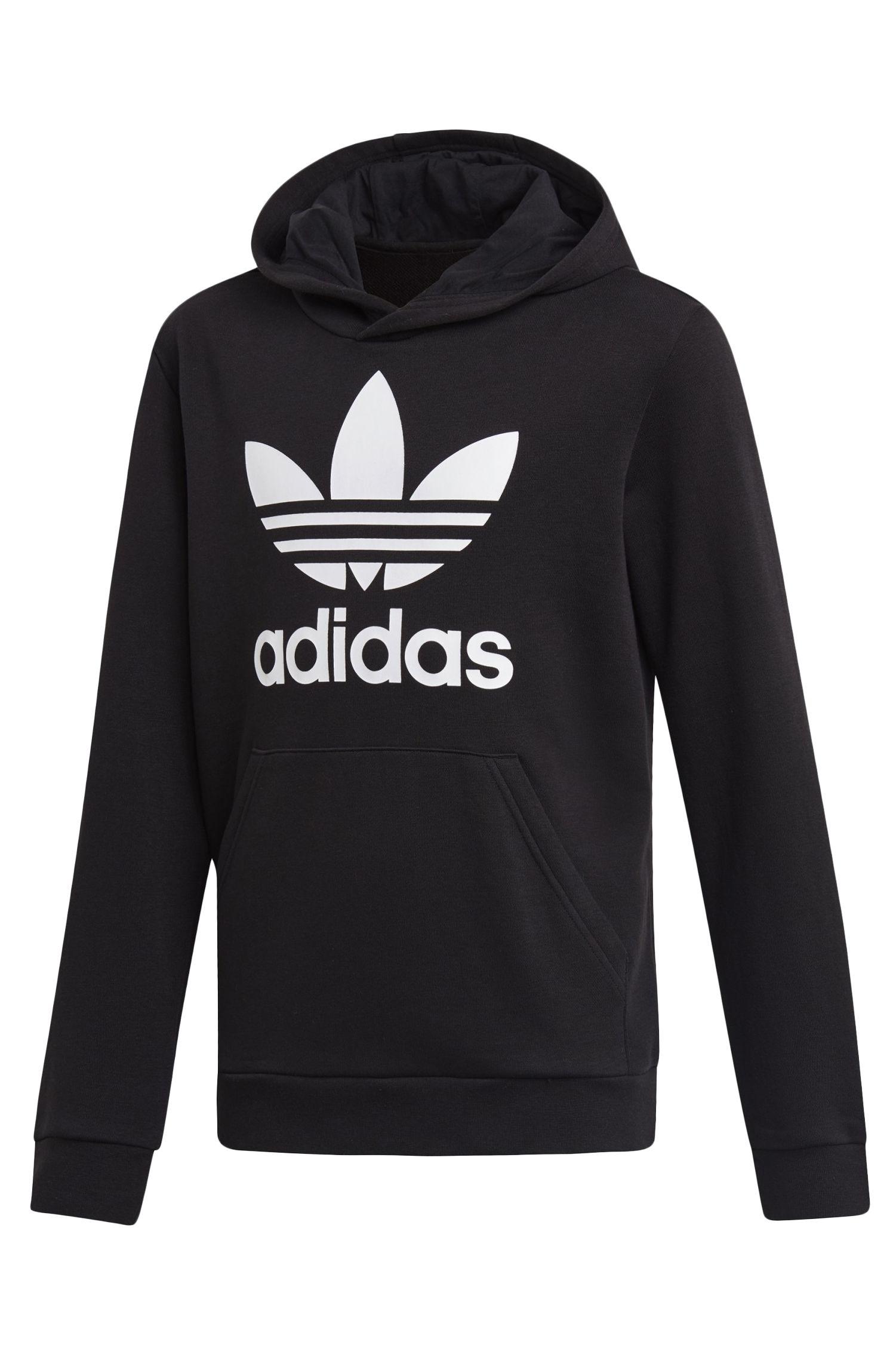 Sweat Capuz Adidas TREFOIL HOODIE Black/White