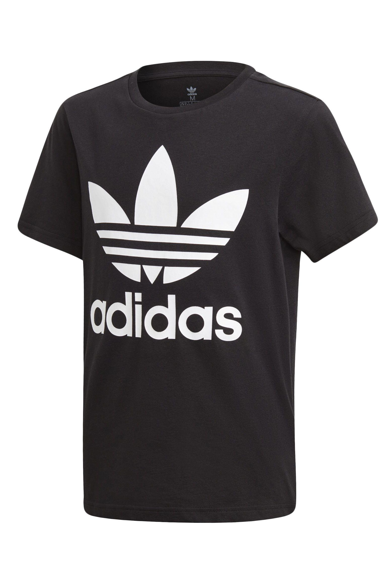 T-Shirt Adidas TREFOIL TEE Black/White