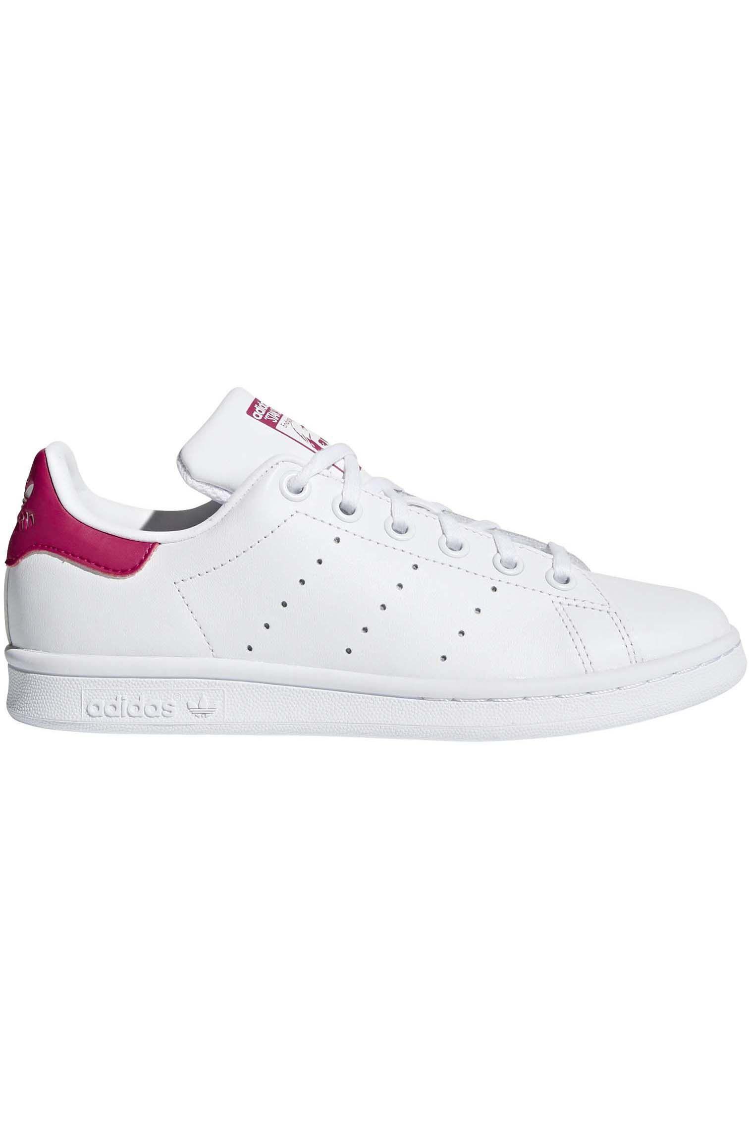 Tenis Adidas STAN SMITH J Ftwr White/Ftwr White/Bold Pink