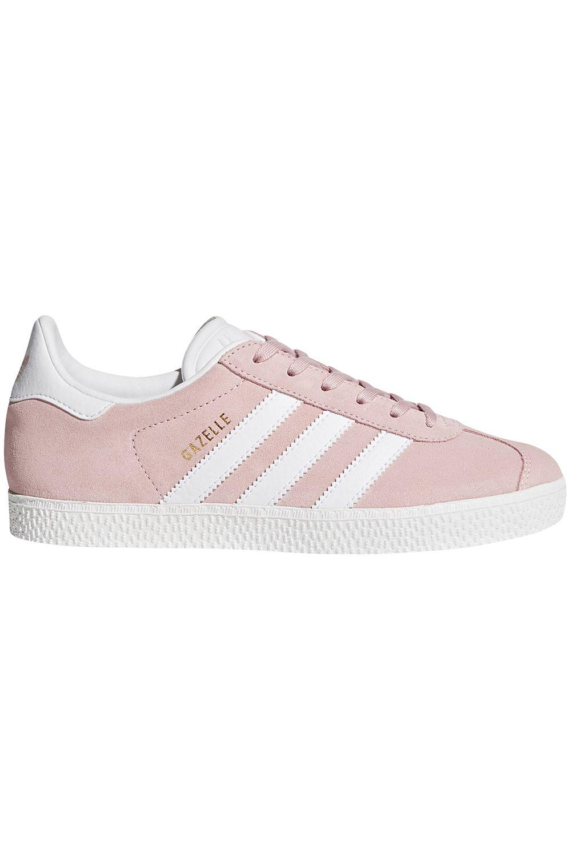 Tenis Adidas GAZELLE J Icey Pink F17/Ftwr White/Gold Met.