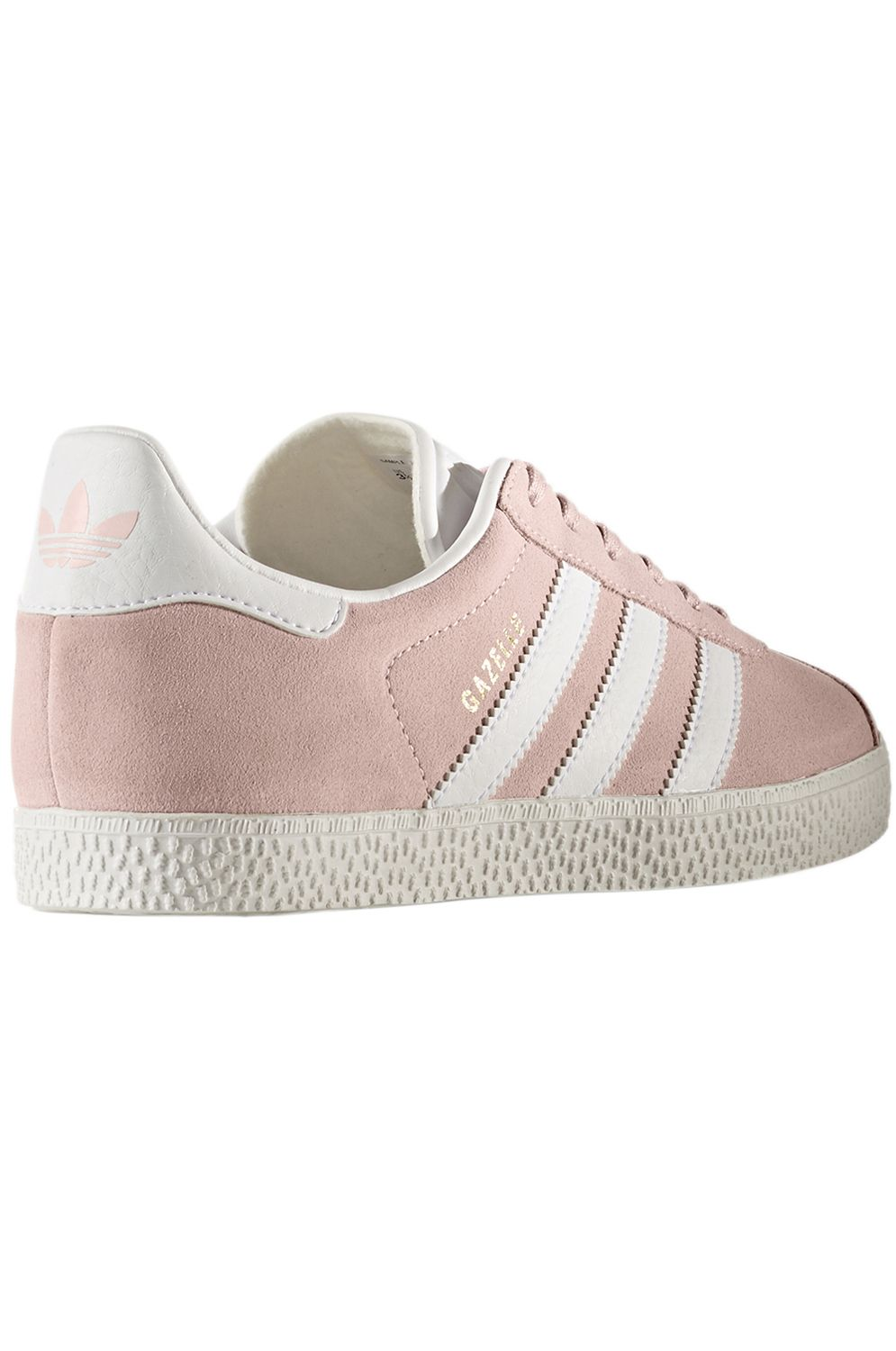 Adidas Shoes GAZELLE J Icey Pink F17/Ftwr White/Gold Met.