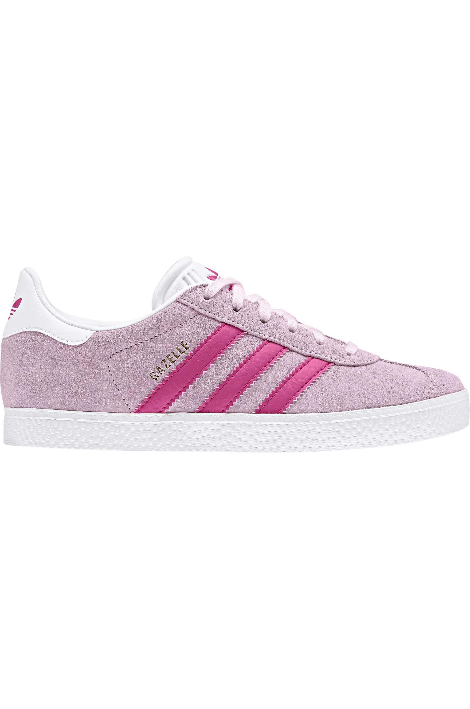 Tenis Adidas GAZELLE J Clear Pink/Real Magenta/Ftwr White