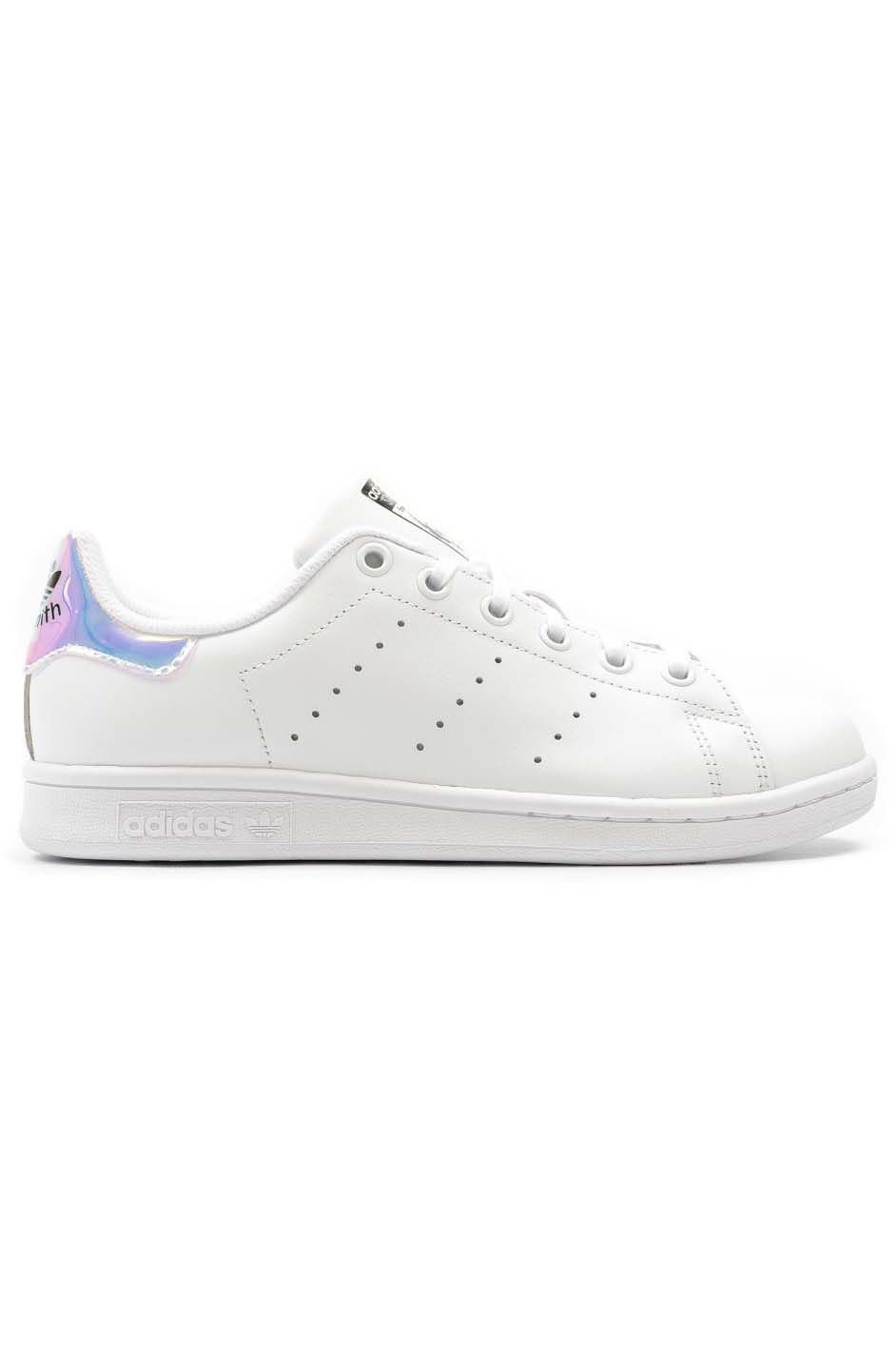 Tenis Adidas STAN SMITH Ftwr WhiteMetallic Silver SldFtwr