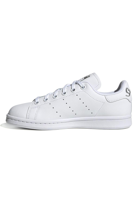 Tenis Adidas STAN SMITH J Ftwr White/Ftwr White/Silver Met.